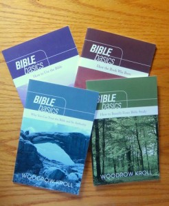 Bible Basics book covers