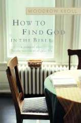How to Find God in the Bible book cover